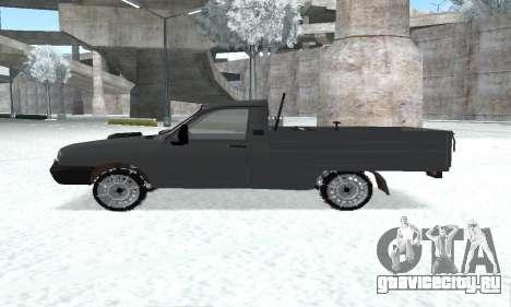 Dacia 1305 Papuc Pick-Up Drop Side 1.9D для GTA San Andreas вид справа