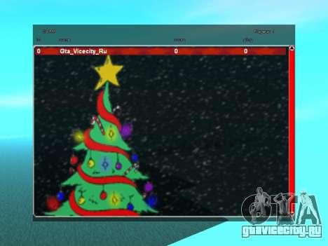 SampGUI Новогодняя атмосфера для GTA San Andreas