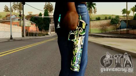 Grafiti Desert Eagle для GTA San Andreas третий скриншот