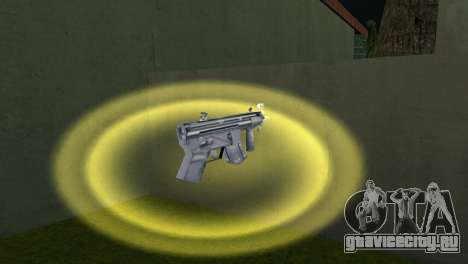 Mp5 Short для GTA Vice City