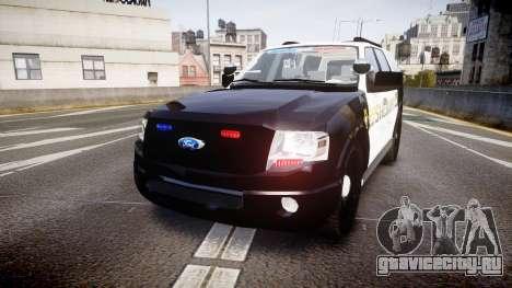 Ford Expedition 2010 Sheriff [ELS] для GTA 4