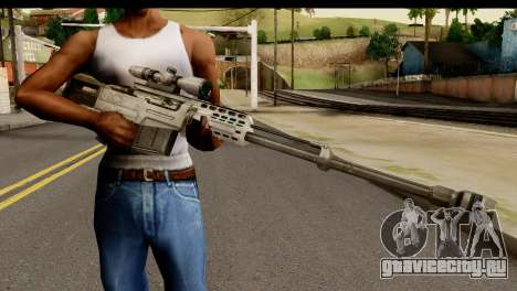 Accuracy International AS50 .50 BMG для GTA San Andreas третий скриншот