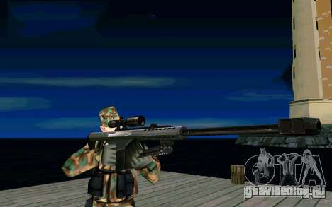 Barret M107 для GTA San Andreas второй скриншот