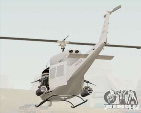 Bell UH-1N Huey USMC для GTA San Andreas вид сбоку
