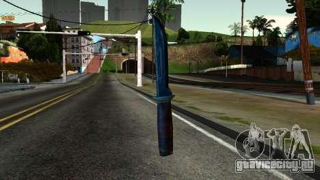 Knife from Kuma War для GTA San Andreas второй скриншот
