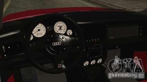 Audi RS2 Coupe для GTA San Andreas вид справа