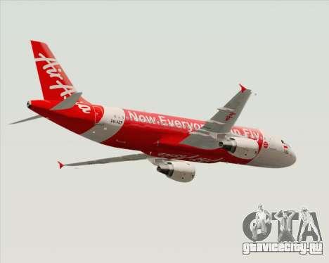Airbus A320-200 Indonesia AirAsia для GTA San Andreas вид справа