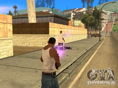 Fagot Funny Effects 1.1 для GTA San Andreas второй скриншот