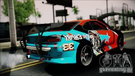 Nissan Silvia S15 EE для GTA San Andreas вид слева