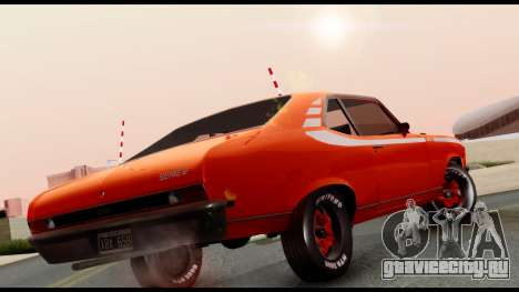 Chevrolet Series 2 1973 для GTA San Andreas вид сзади слева