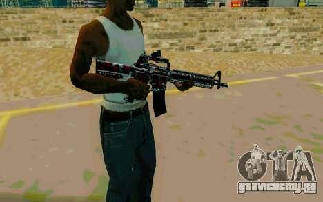 M4A1 (Looney) для GTA San Andreas