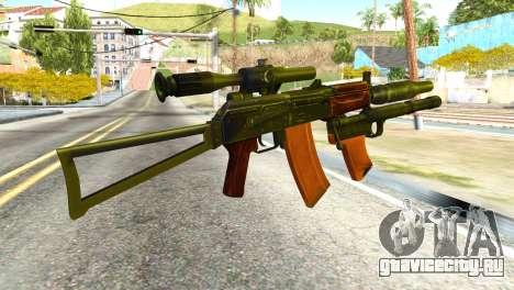 Канарейка (America Army) для GTA San Andreas второй скриншот