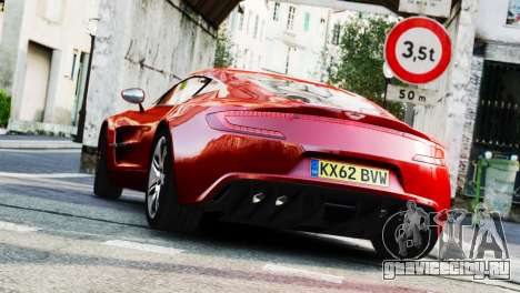 Aston Martin One-77 2010 [EPM] для GTA 4 вид слева