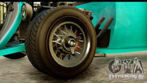 GTA 5 Hotknife GT для GTA San Andreas вид сзади слева