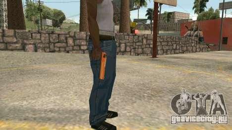 Orange Desert Eagle для GTA San Andreas второй скриншот