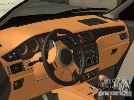 Mitsubishi Outlander для GTA San Andreas вид сзади