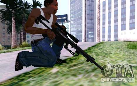 Cheytac M200 Black для GTA San Andreas пятый скриншот