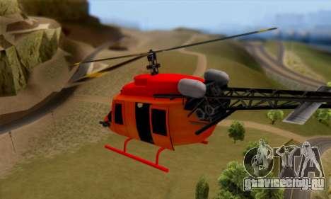 Bandit Maverick для GTA San Andreas вид справа