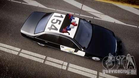 Chevrolet Caprice Highway Patrol [ELS] для GTA 4 вид справа