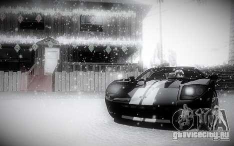 Зимний ENBSeries 2.0 для GTA San Andreas третий скриншот