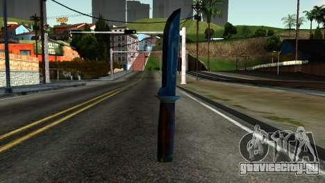 Knife from Kuma War для GTA San Andreas