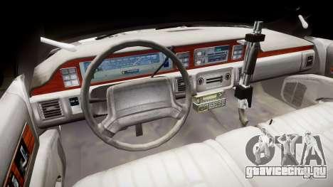 Chevrolet Caprice 1990 LCPD [ELS] Patrol для GTA 4