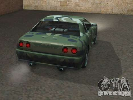 Elegy GTR для GTA San Andreas вид сзади слева