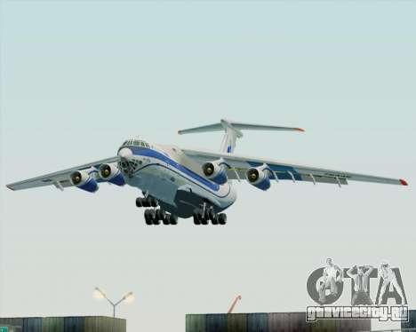 ИЛ-76ТД Газпром авиа для GTA San Andreas вид сзади