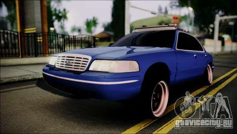 Ford Crown Victoria Stance Nation для GTA San Andreas