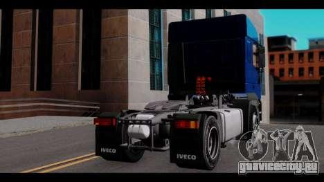 Iveco Eurotech (No Snow) для GTA San Andreas вид слева