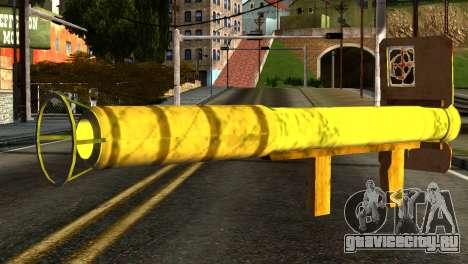 Firework Launcher from GTA 5 для GTA San Andreas второй скриншот