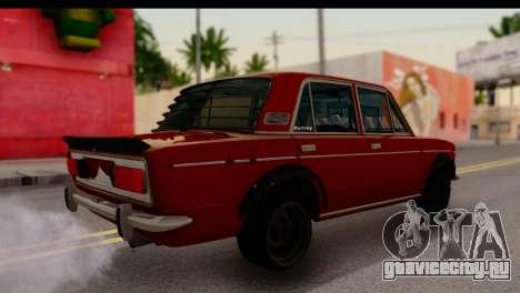 ВАЗ 2106 БК для GTA San Andreas вид сзади слева