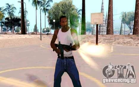 M4A1 (Dodgers) для GTA San Andreas второй скриншот