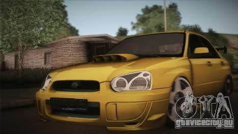 Subaru Impreza WRX STI JDM Style 2015 для GTA San Andreas