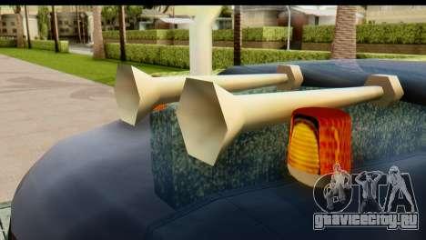 Chevrolet C.O.E. Semimula для GTA San Andreas вид сзади
