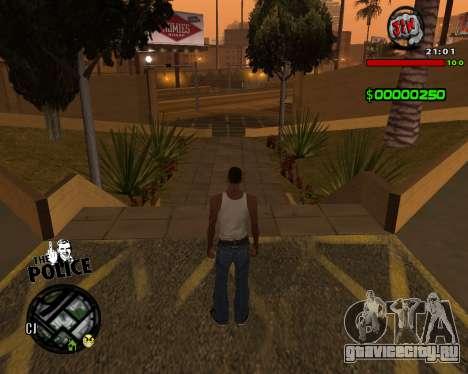 C-HUD by Jim для GTA San Andreas третий скриншот