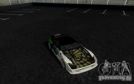 Toyota Supra VCDT для GTA San Andreas вид сзади слева