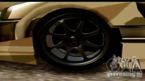 Nissan Skyline R34 Maxxis GT для GTA San Andreas вид справа
