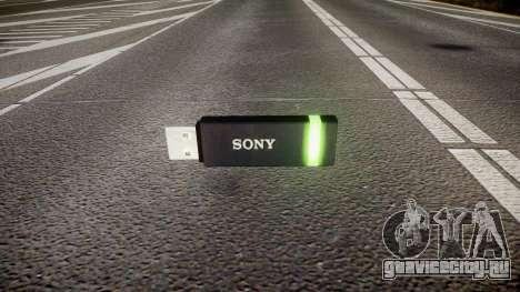 USB-флеш-накопитель Sony green для GTA 4