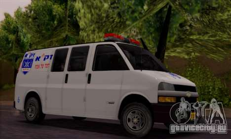 Chevrolet Exspress Ambulance для GTA San Andreas