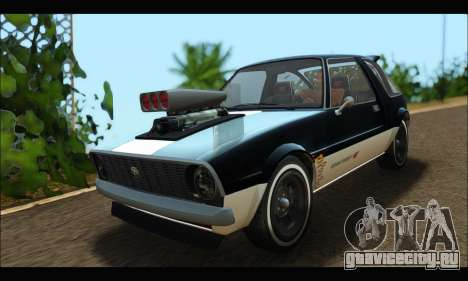 Declasse Rhapsody (GTA V) (SA Mobile) для GTA San Andreas