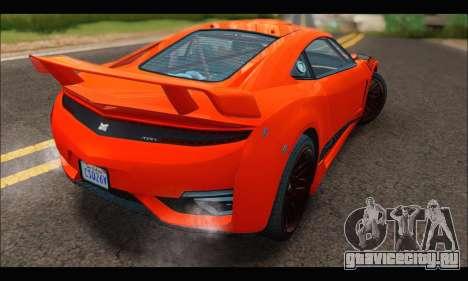 Dinka Jester Racecar (GTA V) для GTA San Andreas вид справа