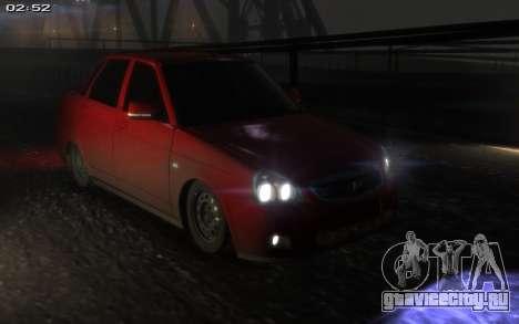 Lada 2170 Priora для GTA 4