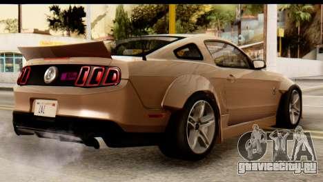 Ford Shelby GT500 RocketBunny для GTA San Andreas вид слева