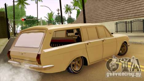 ГАЗ 24 Волга для GTA San Andreas вид сзади слева