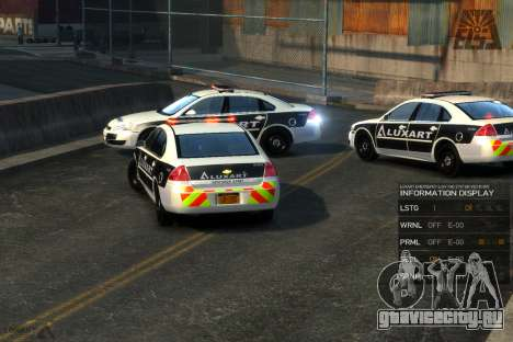 Emergency Lights System v8 [ELS] для GTA 4 второй скриншот