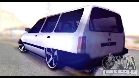 Opel Kadett GSI Caravan для GTA San Andreas вид слева