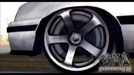 Opel Kadett GSI Caravan для GTA San Andreas вид сзади слева