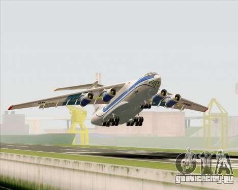 ИЛ-76ТД Газпром авиа для GTA San Andreas колёса