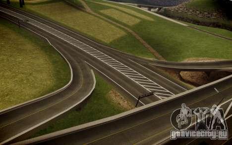 Fourth Road Mod для GTA San Andreas пятый скриншот